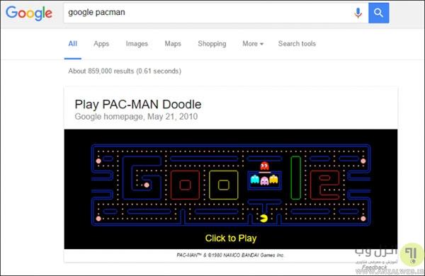 معرفی بازی های مخفی شده کروم، گوگل و اندروید