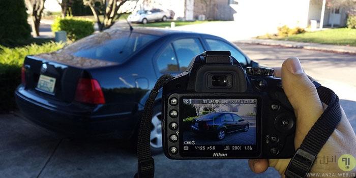 چگونه از ماشین عکس بگیریم؟
