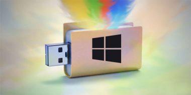 فلش با قابلیت نصب چند نسخه از ویندوز