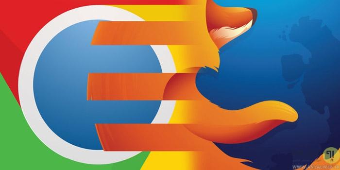 هماهنگ کردن تنظیمات و اطلاعات مرورگر های کروم و فایرفاکس