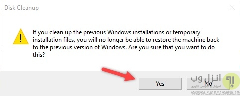 remove-windows-old-folder-click-yes