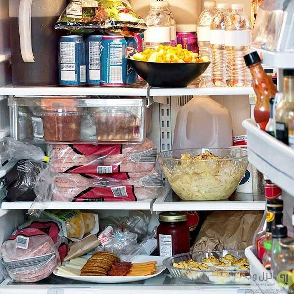 اشتباهات متداول در نگهداری مواد غذایی در یخچال