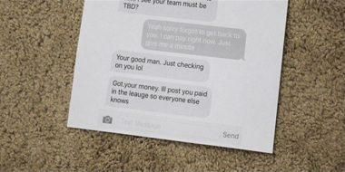 پرینت گرفتن اس ام اس، پیام تلگرام و سایر پیامرسان ها در گوشی