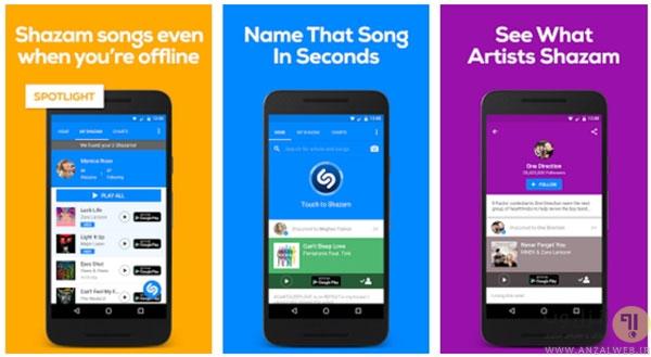 برنامه هایی برای شناسایی اطلاعات آهنگ ها در اندروید