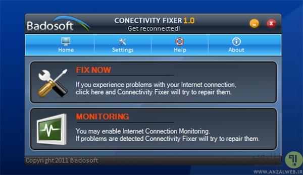 ابزار های رایگان برای برطرف کردن مشکل اتصال به اینترنت Winsock
