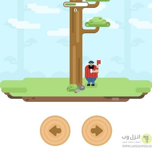 بازی LumberJack تلگرام