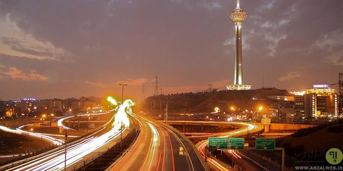 آموزش ساخت ایجاد مسیر دنباله نور ماشین و چراغ ها در شب