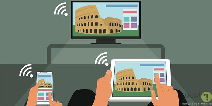 آموزش اتصال تبلت گوشی اندروید به تلویزیون