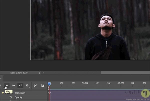 آموزش ساخت عکس متحرک با فوتوشاپ