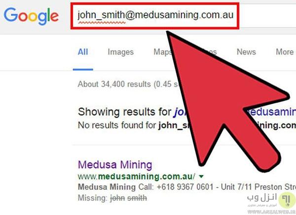 ترفند های پیدا کردن آدرس ایمیل اشخاص