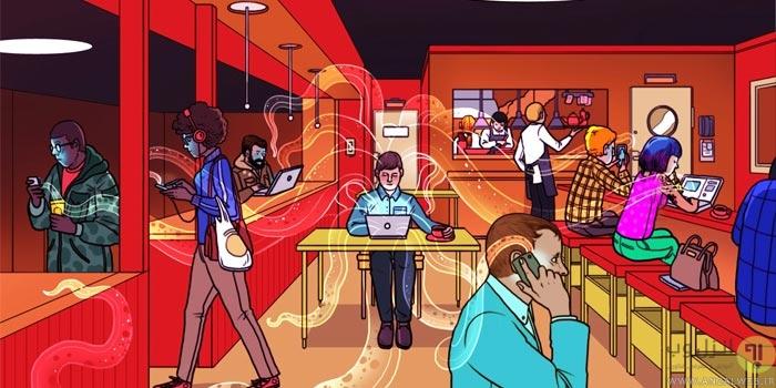 افزایش امنیت ایمنی وای فای عمومی