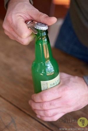 باز کردن درب نوشیدنی ها