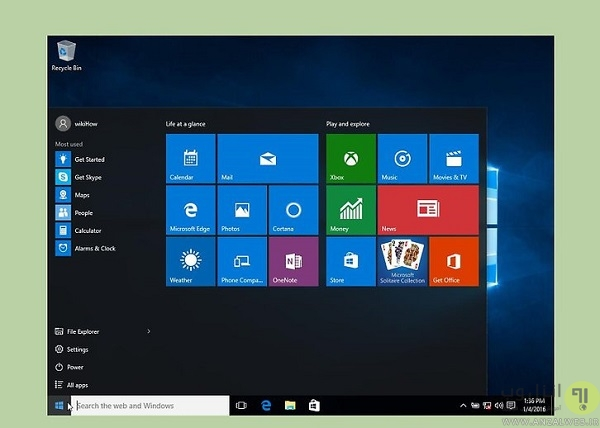 Start using Windows 10