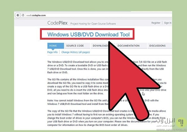 Download the Windows USB/DVD Download Tool