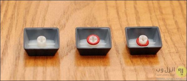 کم کردن صدای کیبورد های مکانیکی حین تایپ