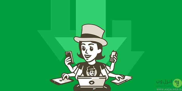 دانلود لینک مستقیم فایل ، ویدیو ، موزیک و.. از تلگرام با دانلود منیجر های IDM ، ADM و..
