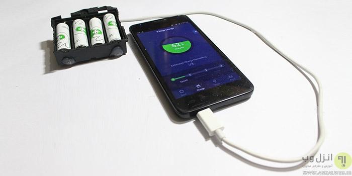 آموزش ساخت پاور بانک حرفه ای و قابل شارژ از باتری لپ تاپ و باتری قلمی