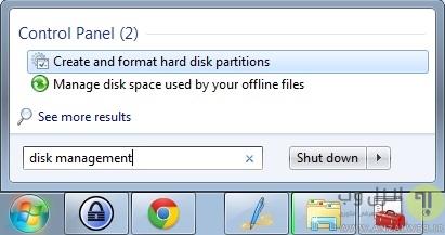 حل مشکل صفر یا کم شدن حافظه فلش مموری از طریق تعریف مجدد فضا تعریف نشده فلش (Unallocated Space)