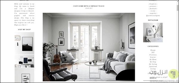 سایت Coco Lapine Design