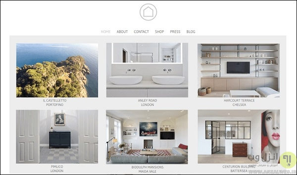 سایت Ardesia Design