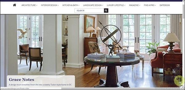 سایت Home & Design