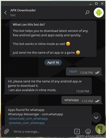 حل مشکل گوگل پلی در اندروید و دانلود مستقیم اپ های گوگل پلی توسط ربات تلگرام