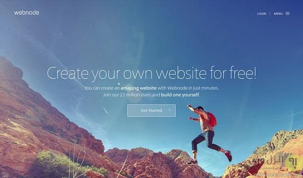 سایت ساز رایگان Webnode