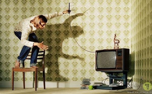 تقویت سیگنال آنتن تلویزیون
