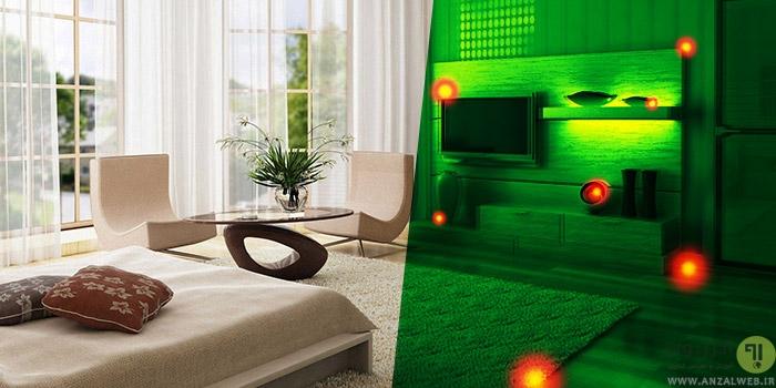 چگونه دستگاه شنود ، دوربین مخفی و سایر ابزار جاسوسی را در خانه پیدا کنیم ؟