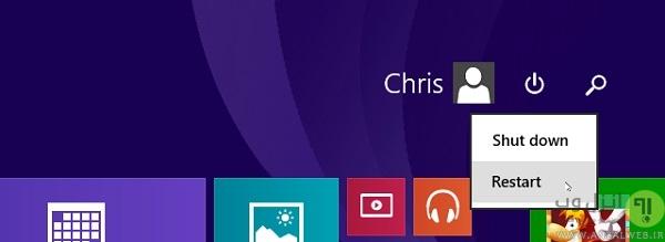 نسخه پشتیبان ویندوز 8