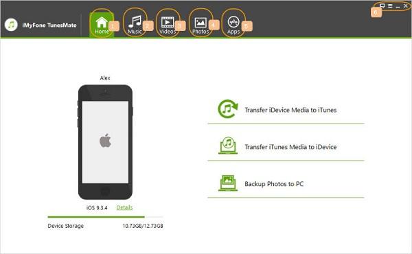 iMyFone TunesMate iPhone Transfer