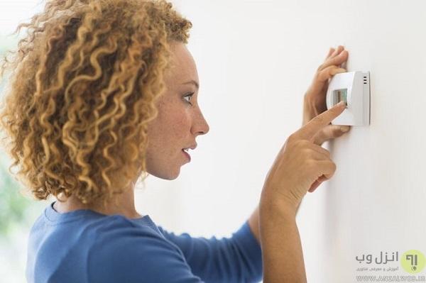 تنظیم دمای مناسب برای اتاق