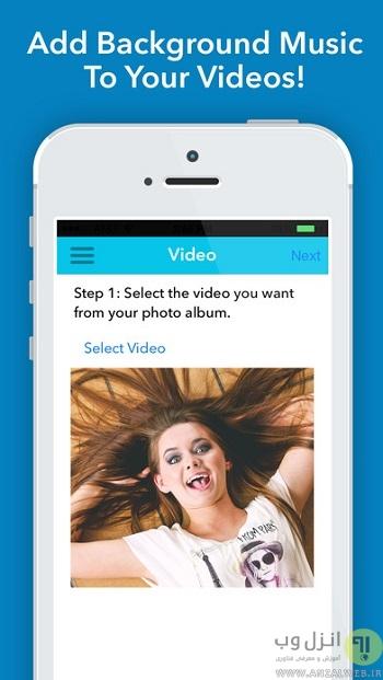 اضافه کردن موزیک به story اینستاگرام برنامه Add Music to Video