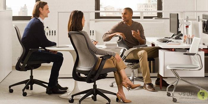 چگونه صندلی اداری معمولی ، چرخدار و گردان خود را تعمیر کنیم؟