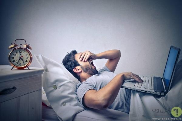 استراحت دادن به چشم و عضلات در هنگام کار با لپ تاپ