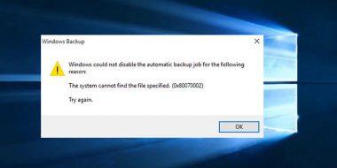 حل ارور The system cannot find the file specified ویندوز 10 8.1 8 7