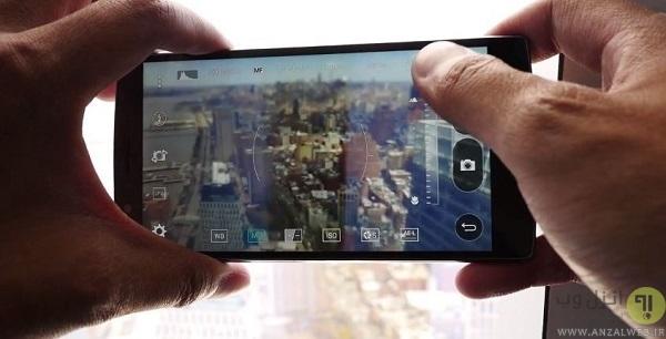 تار شدن و پایین آمدن کیفیت دوربین گوشی به علت فوکوس نامناسب