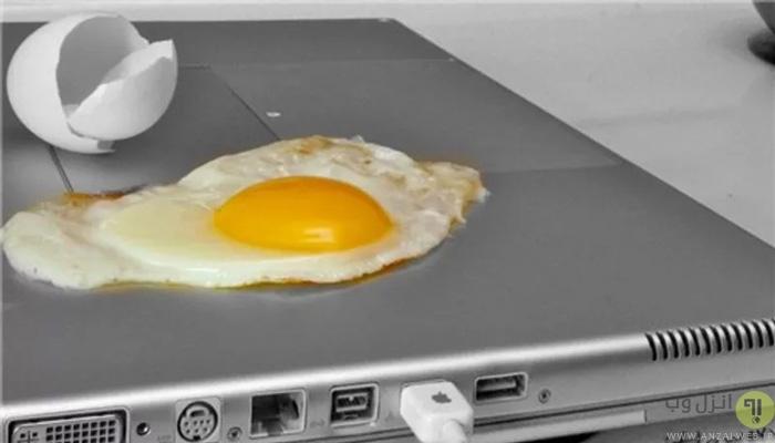 جدا کردن باتری لپ تاپ برای جلوگیری از گرم شدن