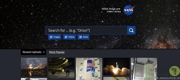پخش زنده ایستگاه بین المللی ناسا