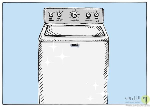 رسوب زدایی ماشین لباسشویی ال جی