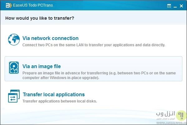 آموزش انتقال برنامه و اطلاعات کامپیوتر توسط فایل ایمیج