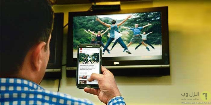 how to play video film music picture from android phone to tv with cable or wifi