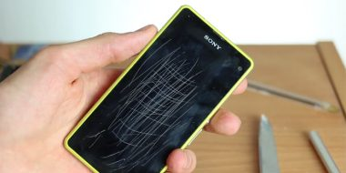 رفع خط و خش صفحه و بدنه گوشی اپل ، اندروید و..