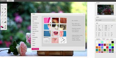 فتوشاپ ویرایش آنلاین عکس HTML 5 بدون نیاز به فلش پلیر
