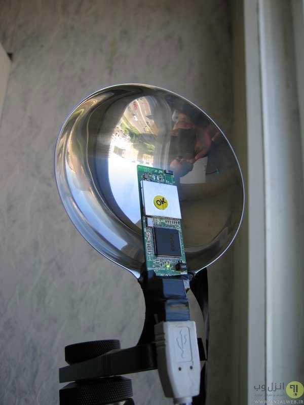 افزایش سیگنال مودم وایرلس