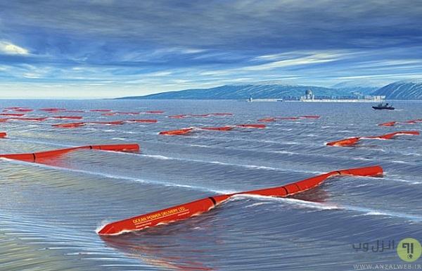 تولید برق توسط امواج اقیانوس