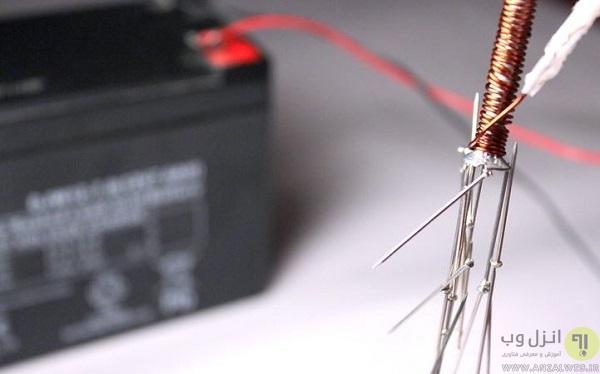 ساخت آهنربای الکتریکی