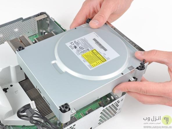 چگونگی تعویض هارد دیسک در Xbox
