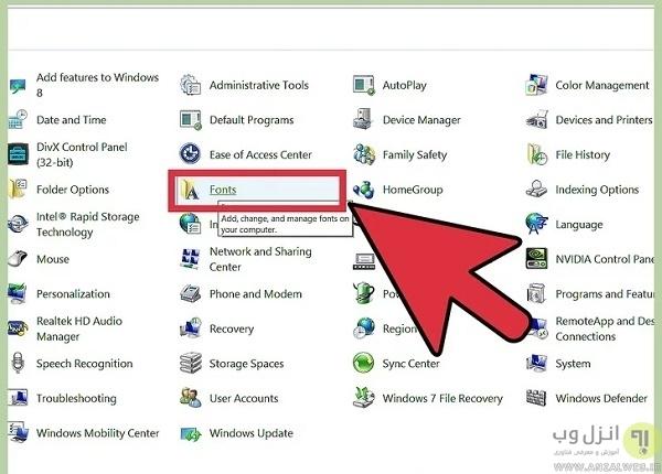 چگونه به مایکروسافت ورد فونت اضافه کنیم