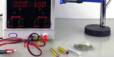 آموزش 3 روش ساخت آهنربای الکتریکی ساده و قوی در منزل